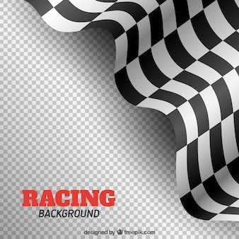 Elegant checkered flag background