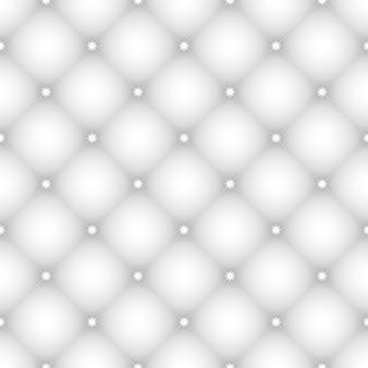 작은 눈송이와 우아한 체크 무늬 원활한 패턴