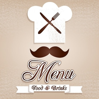 Elegant chef logo