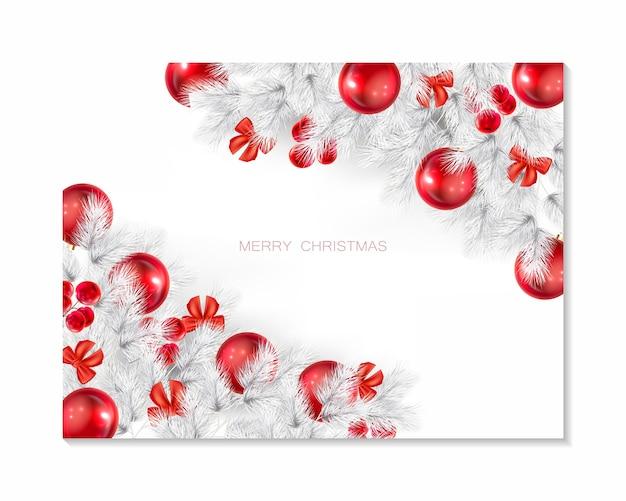 Elegant christmas background illustration