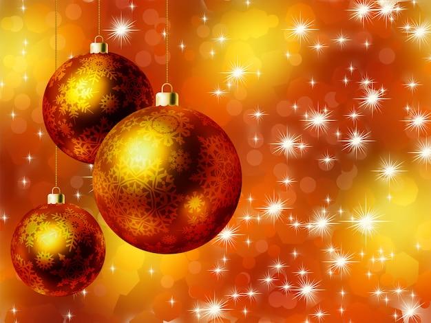 エレガントなクリスマスカード。