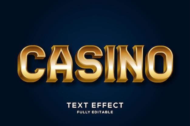 Элегантный классический золотой 3d текстовый эффект