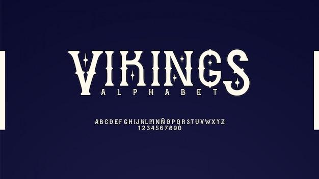Элегантный классический шрифт
