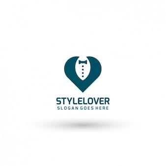 Elegant clothes logo template