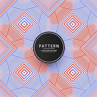 Elegant colorful geometric pattern background
