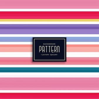 Elegant colorful stripes vector pattern