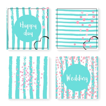 Elegant confetti. pink xmas effect. white branding brochure. turquoise gatsby element. hand drawn illustration set. mint flyer. stripe holiday textile. stripe elegant confetti