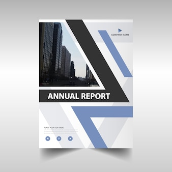 Elegant corporate annual report design
