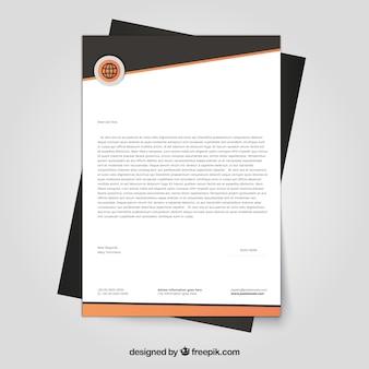 Elegant corporate letterhead