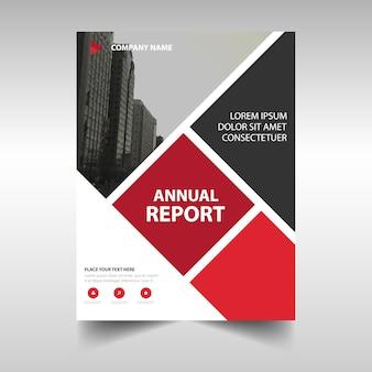 Elegant cover of annual report