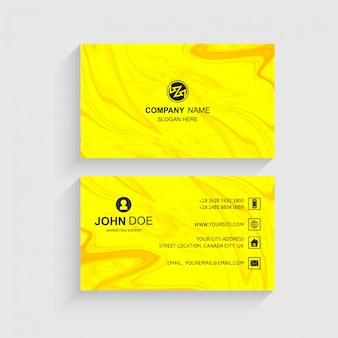 Elegant creative business card set template vector
