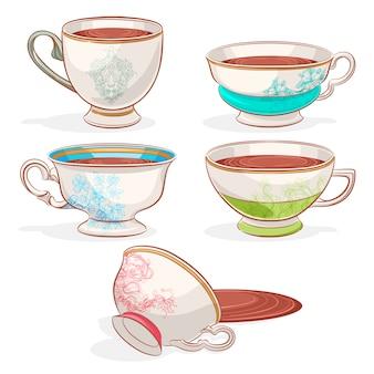 Elegant cups