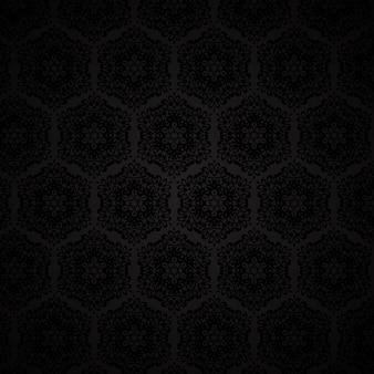 Elegant damask style pattern background