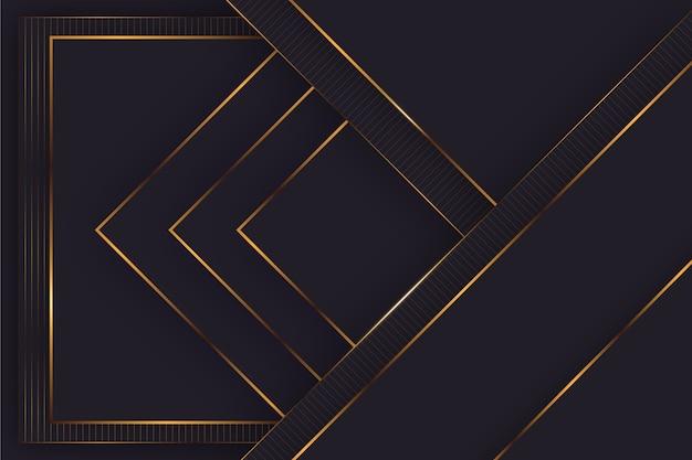 Элегантные темные обои с золотыми деталями