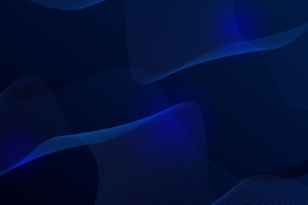 Elegant dark wavy net background