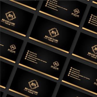 Elegant design for business card