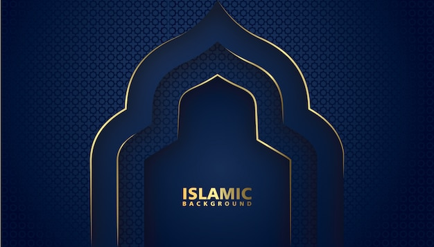 Elegant design luxury islamic background