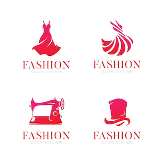Elegant fashion logo