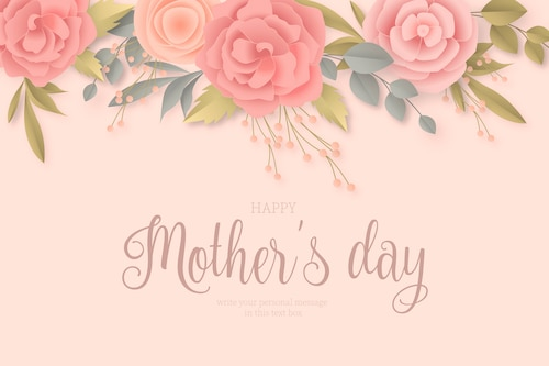 Elegant Floral Mother's Day Card