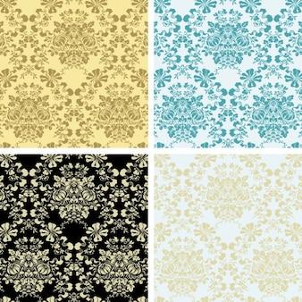 Elegant floral pattern collection