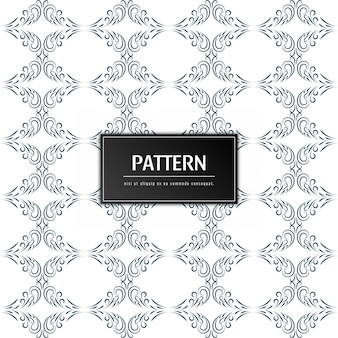 Elegant floral pattern decorative