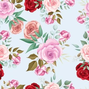 Элегантный цветочный фон с розами