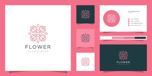 Элегантная цветочная роза роскошный салон красоты, мода, уход за кожей, косметика, йога и спа-товары