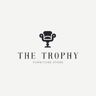 Elegant furniture logo