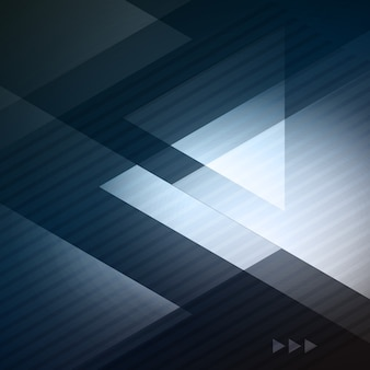 ビジネスパンフレットのエレガントな幾何学的な青い背景イラスト