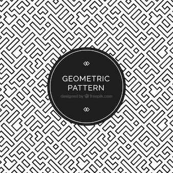 エレガントな幾何学的パターン