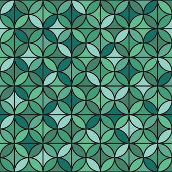 Elegant geometric seamless pattern