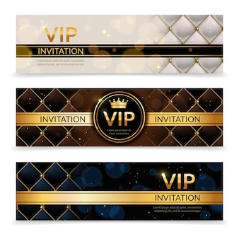 Elegant glamour vip club party promotion flyer royal collection