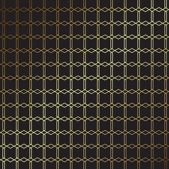 Элегантный золотой и черный узор