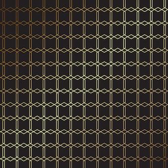 Elegant gold and black pattern