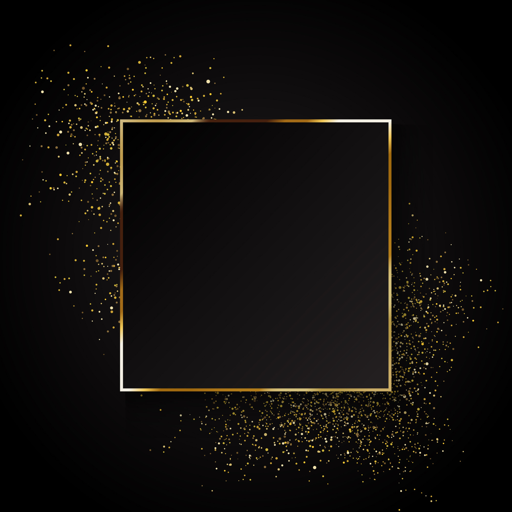 Elegant gold glitter background