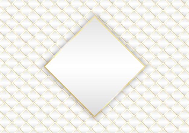 Elegant gold and white background design