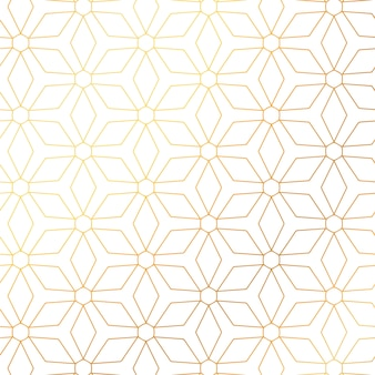 Elegant golden pattern background design