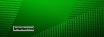 Элегантный зеленый креативные линии заголовка шаблон фона