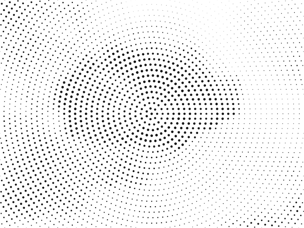 Elegant halftone design modern background vector