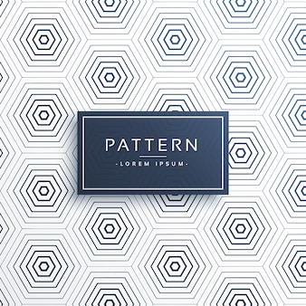 Elegant honeycomb or hexagonal pattern background