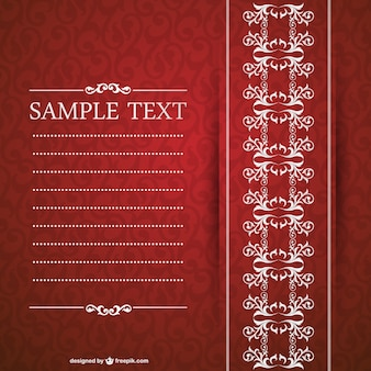 Elegant invitation design