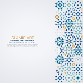 Elegant   islamic design   background template