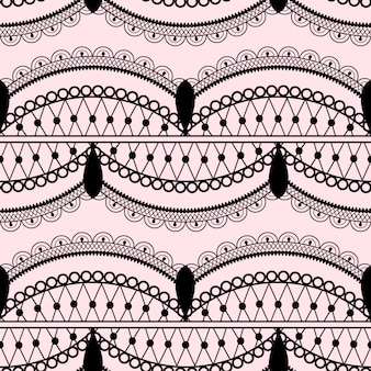 Elegant lace seamless pattern