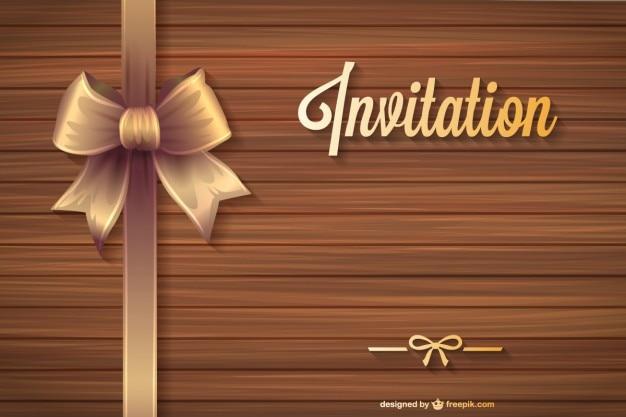 Бесплатно годовщина вектор приглашение