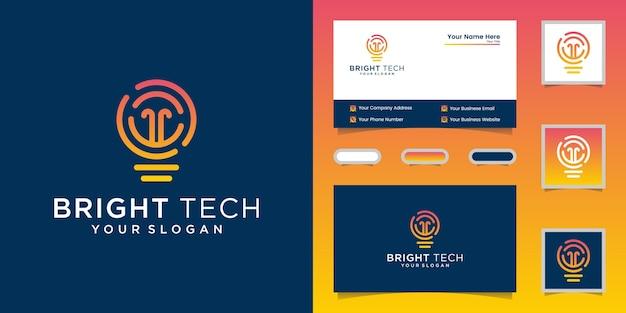 Элегантный дизайн логотипа и визитки