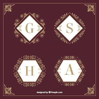 Elegant logo collection