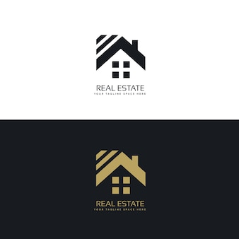 Elegant logo for real estate industry