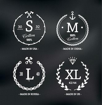 Элегантный шаблон логотипа
