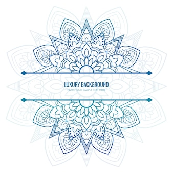 Elegant mandala background