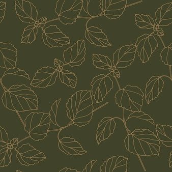 우아한 멜리사 원활한 패턴